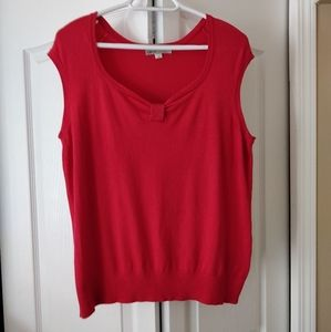 Coral Cleo Sweater, size L